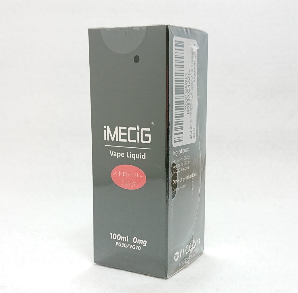 DSC 0093 - 【iMECiG】ストロベリーミルクを購入しました【100mlリキッド】