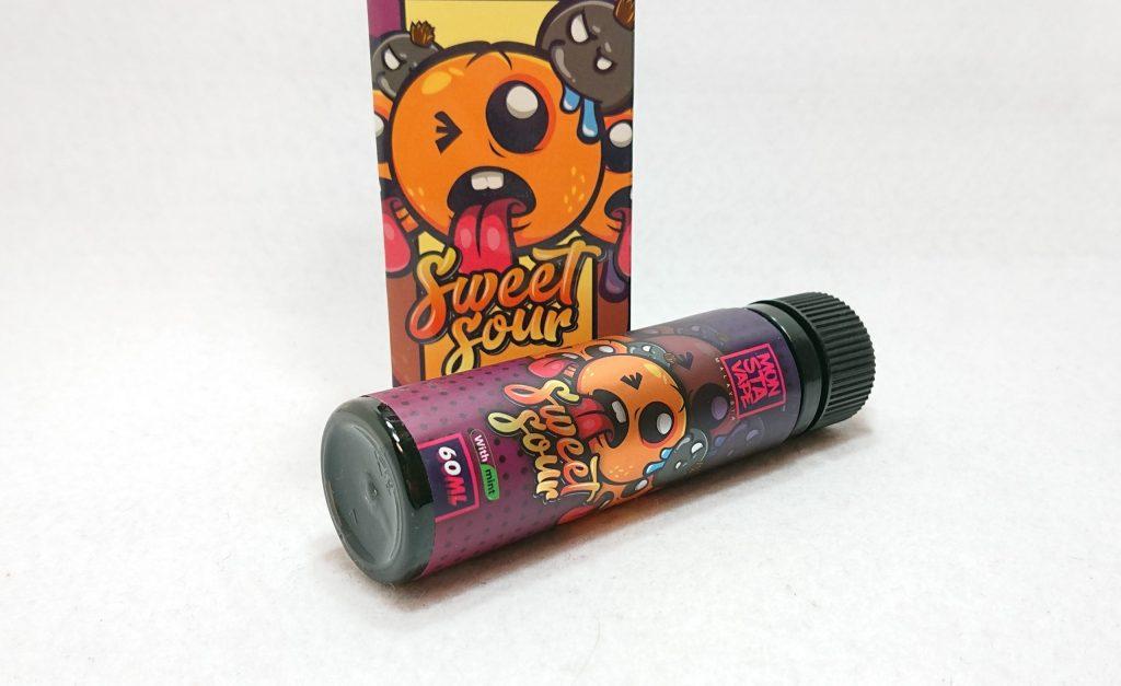 DSC 0003 1 scaled - 【MONSTA VAPE (モンスタベイプ)】Sweet Sour with mint (スウィートサワー ミント)をレビュー!~激ウマオレンジリキッド~