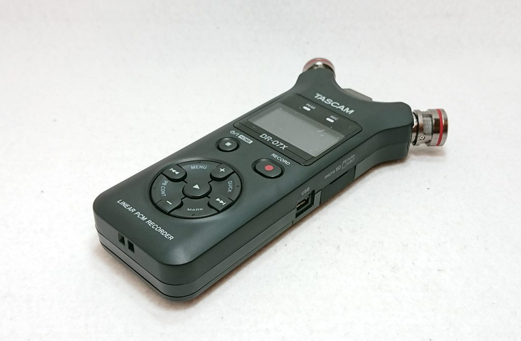DSC 0007 2 scaled - 【TASCAM( タスカム)】PCMレコーダー 『DR-07X』を開封!…と軽くレビュー