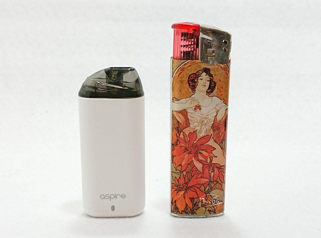 DSC 0009 1 - 【Aspire (アスパイア)】Minican (ミニカン)をレビュー!~超コンパクトなのに濃厚な味が出るPOD型デバイス~