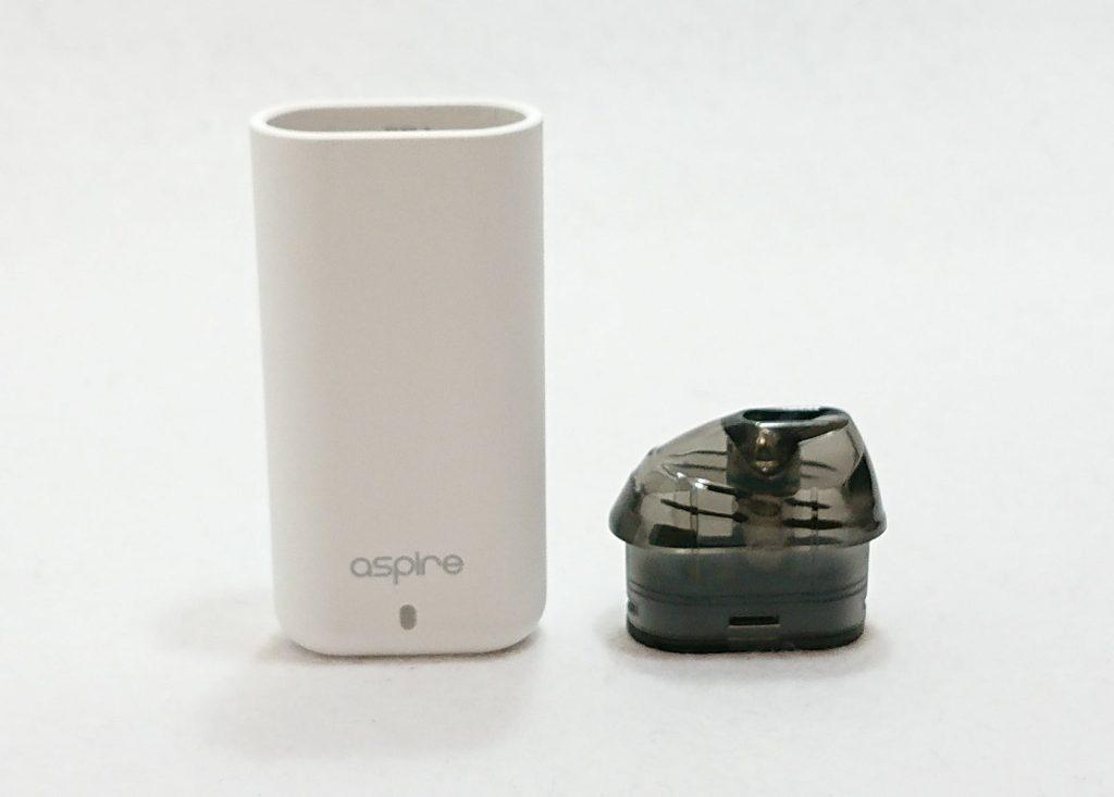 DSC 0014 1 - 【Aspire (アスパイア)】Minican (ミニカン)をレビュー!~超コンパクトなのに濃厚な味が出るPOD型デバイス~