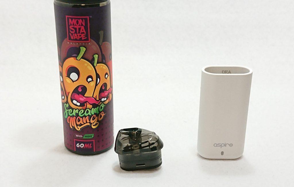 DSC 0021 - 【Aspire (アスパイア)】Minican (ミニカン)をレビュー!~超コンパクトなのに濃厚な味が出るPOD型デバイス~