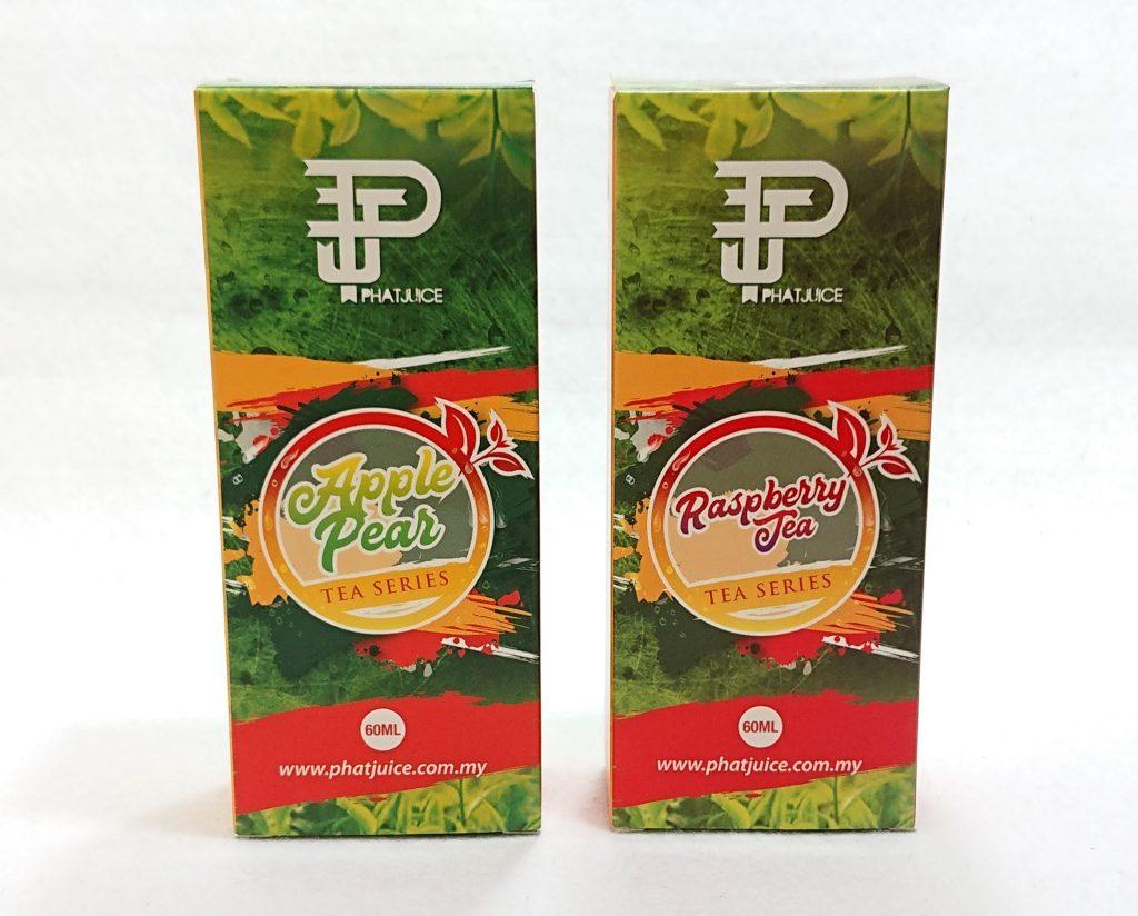 DSC 0027 - 【PHAT JUICE (ファットジュース)】TEA Series (ティーシリーズ)2種をレビュー!~ラズベリーとアップルペア~