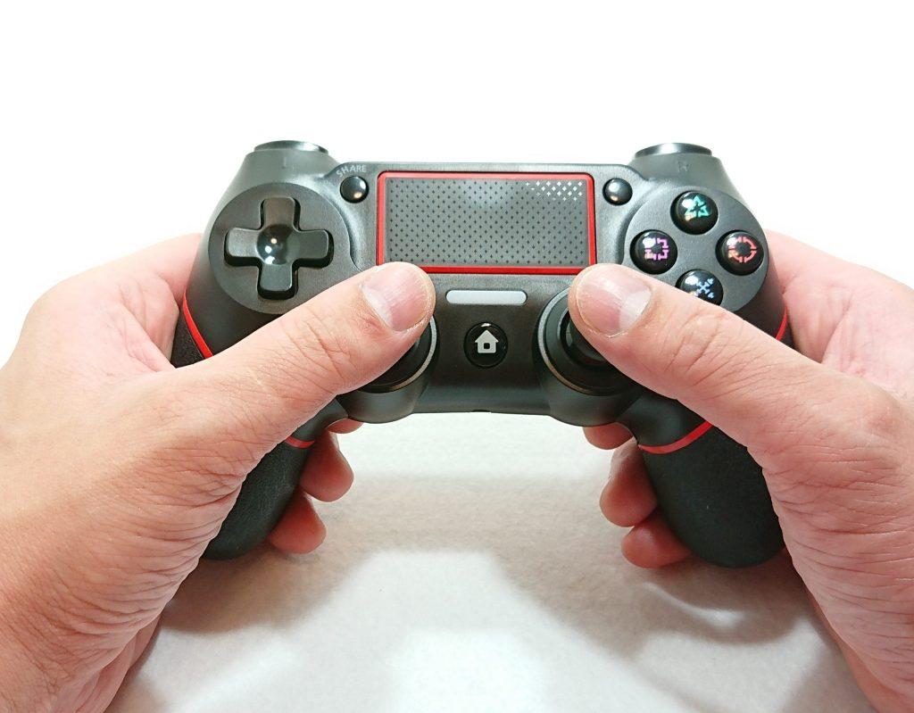 DSC 0032 1 scaled - PS4のコントローラーが壊れたけど純正品は高いので、PS4互換機のコントローラーを購入!