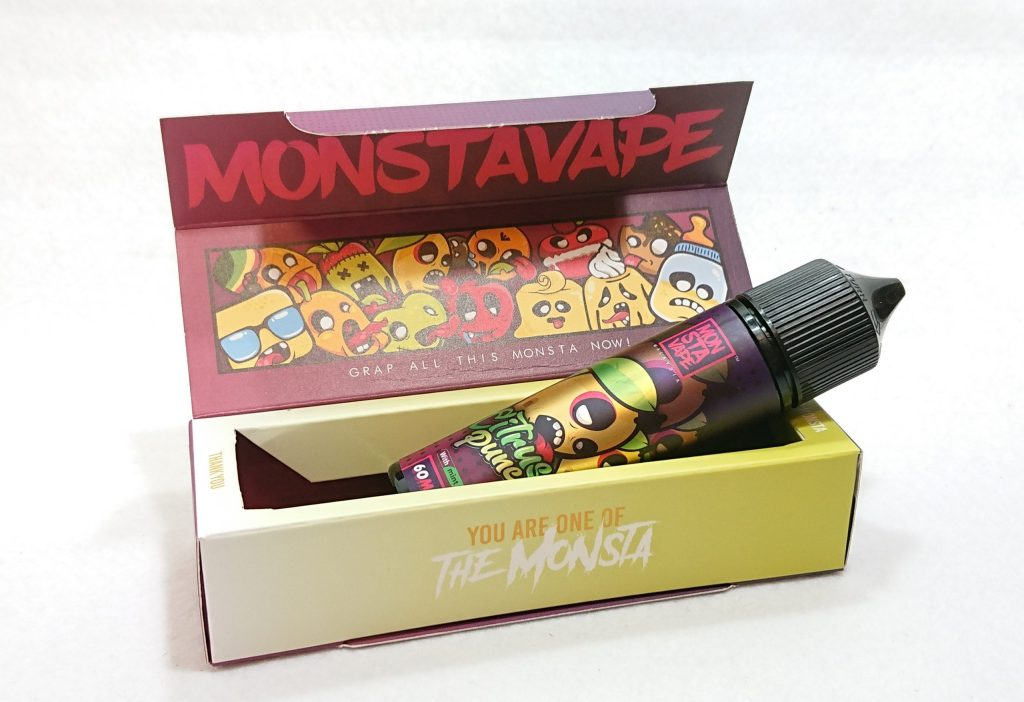 DSC 0038 scaled - 【MONSTA VAPE (モンスタベイプ)】Citrus Punch with mint (シトラスパンチ ミント)を購入しました!~爽やかな柑橘系リキッド~