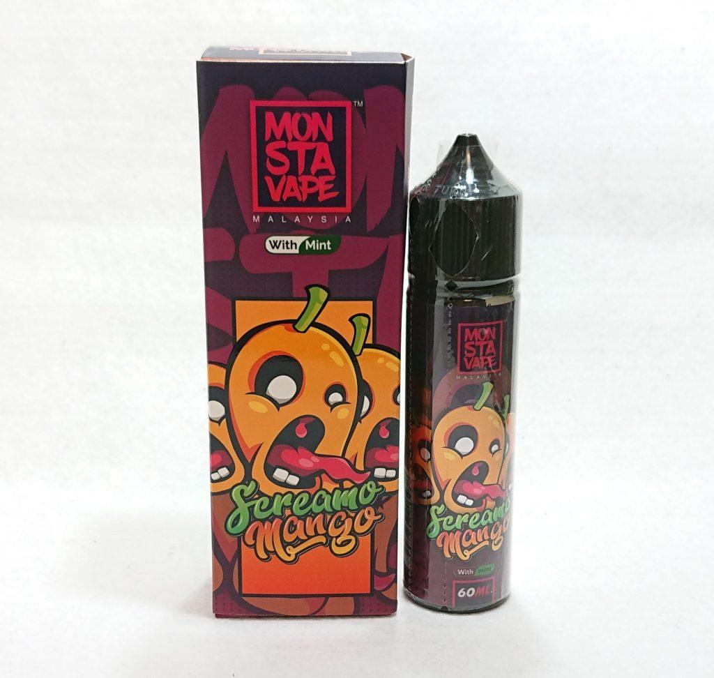 DSC 0047 - 【MONSTA VAPE (モンスタベイプ)】Screamo Mango with mint (スクリーモマンゴー)を購入しました!~完熟マンゴーフレーバー!~