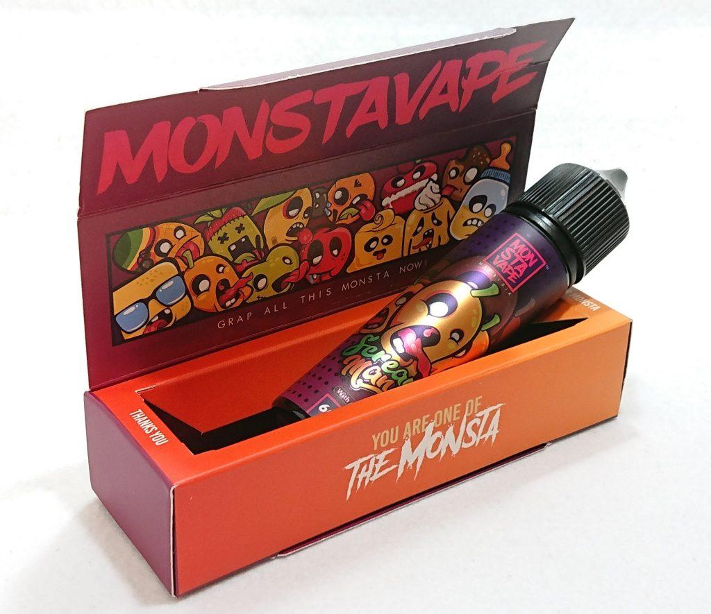 DSC 0048 - 【MONSTA VAPE (モンスタベイプ)】Screamo Mango with mint (スクリーモマンゴー)を購入しました!~完熟マンゴーフレーバー!~