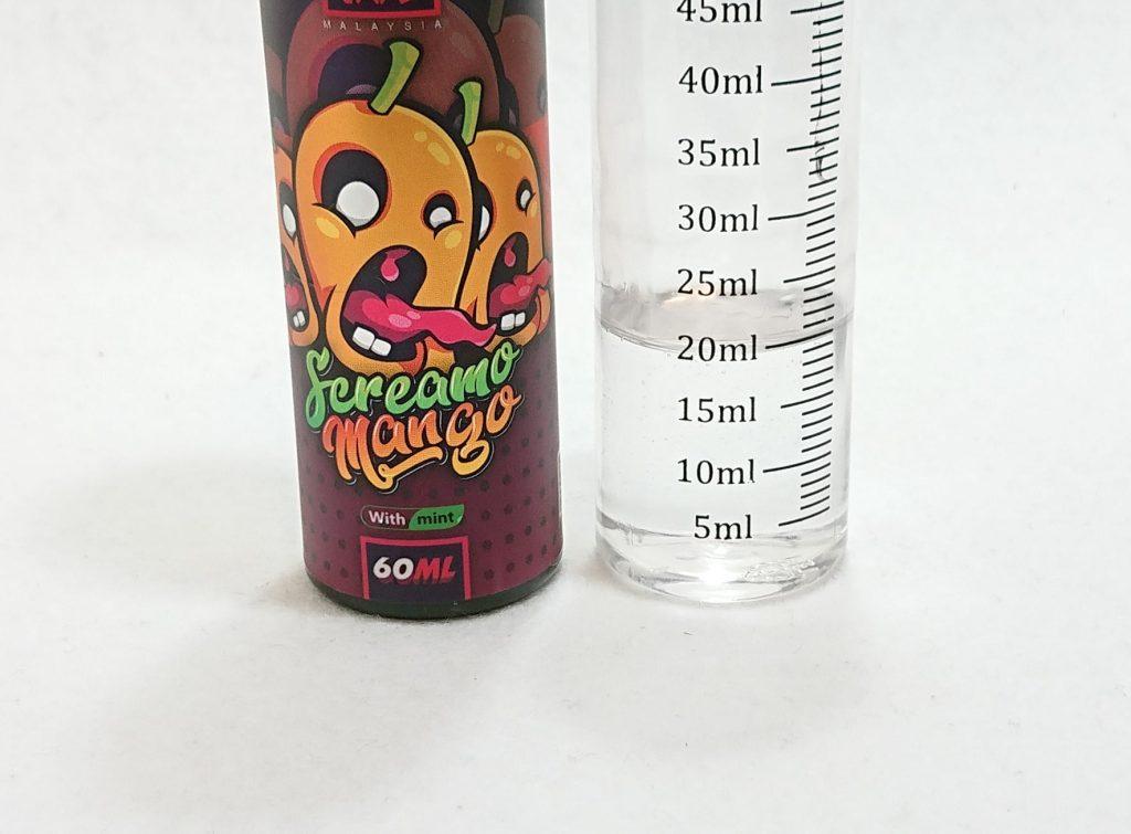 DSC 0053 - 【MONSTA VAPE (モンスタベイプ)】Screamo Mango with mint (スクリーモマンゴー)を購入しました!~完熟マンゴーフレーバー!~