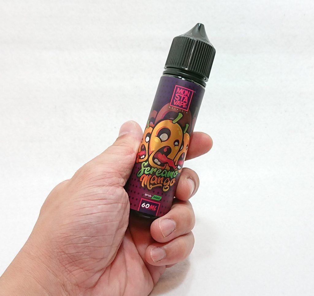 DSC 0056 - 【MONSTA VAPE (モンスタベイプ)】Screamo Mango with mint (スクリーモマンゴー)を購入しました!~完熟マンゴーフレーバー!~