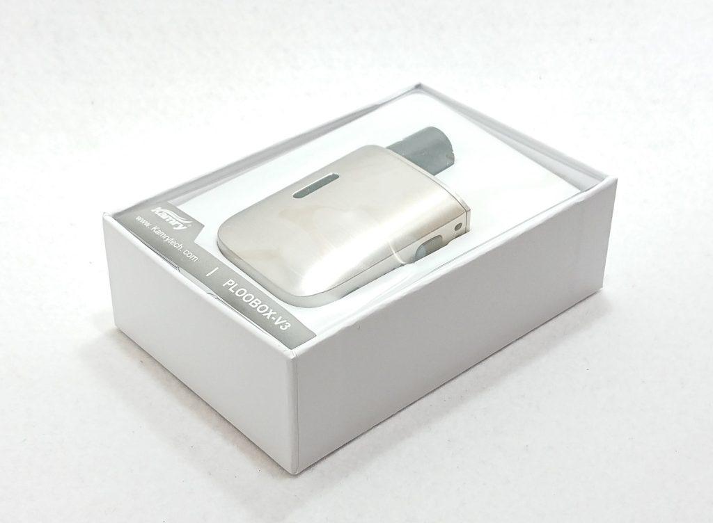 DSC 0014 1 - 【Kamry (カムリー)】Ploobox V3 (カムリー プルーボックス)をレビュー!~使い勝手が良いプルームテックプラス互換機~