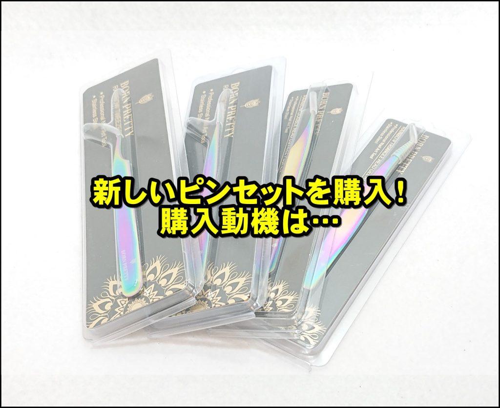 DSC 0017 2 - ピンセットをこだわりたい!~BORN PRETTY ピンセット4本セット購入!~