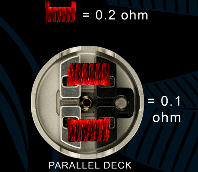 200 - 【Mass Mods】AXIAL PRO RDA(25mm)を購入!~抵抗値が『倍』になる直列デッキ~