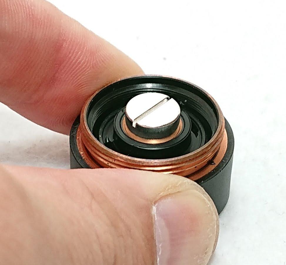 DSC 0002 3 - 【Mechlyfe】 Arcless V2.0 Mech Mod Copper Versionを購入!~21700バッテリーにも対応のメカニカルMODなんだけど…~