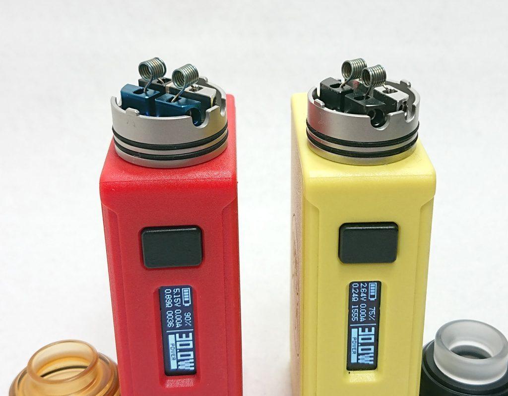 DSC 0004 2 - 【Mass Mods】AXIAL PRO RDA(25mm)を購入!~抵抗値が『倍』になる直列デッキ~