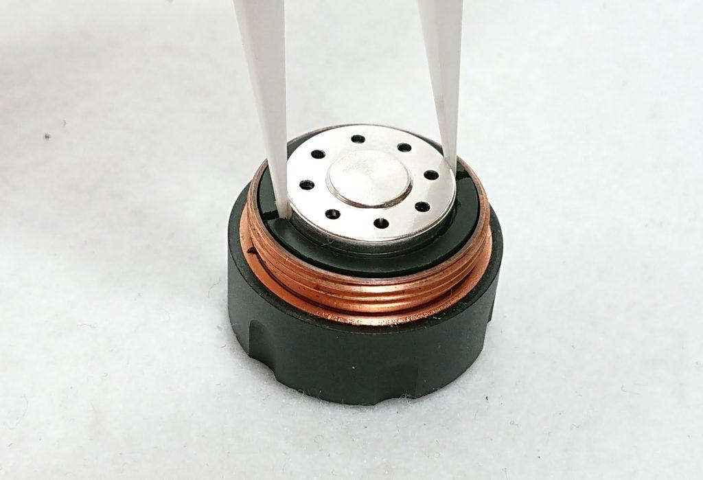 DSC 0006 3 - 【Mechlyfe】 Arcless V2.0 Mech Mod Copper Versionを購入!~21700バッテリーにも対応のメカニカルMODなんだけど…~