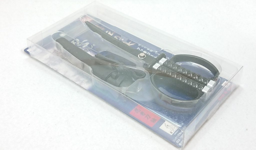 DSC 0055 1 scaled - 【ニッケン刃物】『忍者刀』って言う響きだけで買ったハサミ~忍者ってオッサンになっても憧れるよね!~