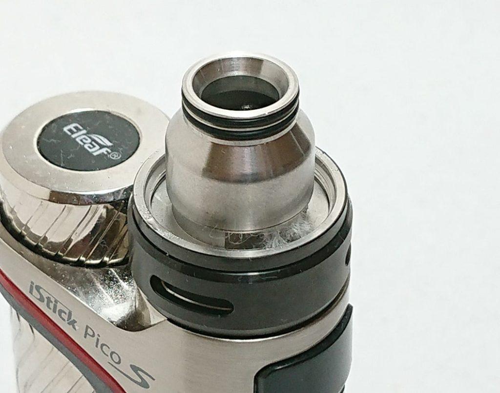 DSC 0065 - 【WOTOFO】nexMESH Pro Tankをレビュー!~コイルが特徴的なクリアロ!RBAデッキを使えばRTAとしても使えるタンク~