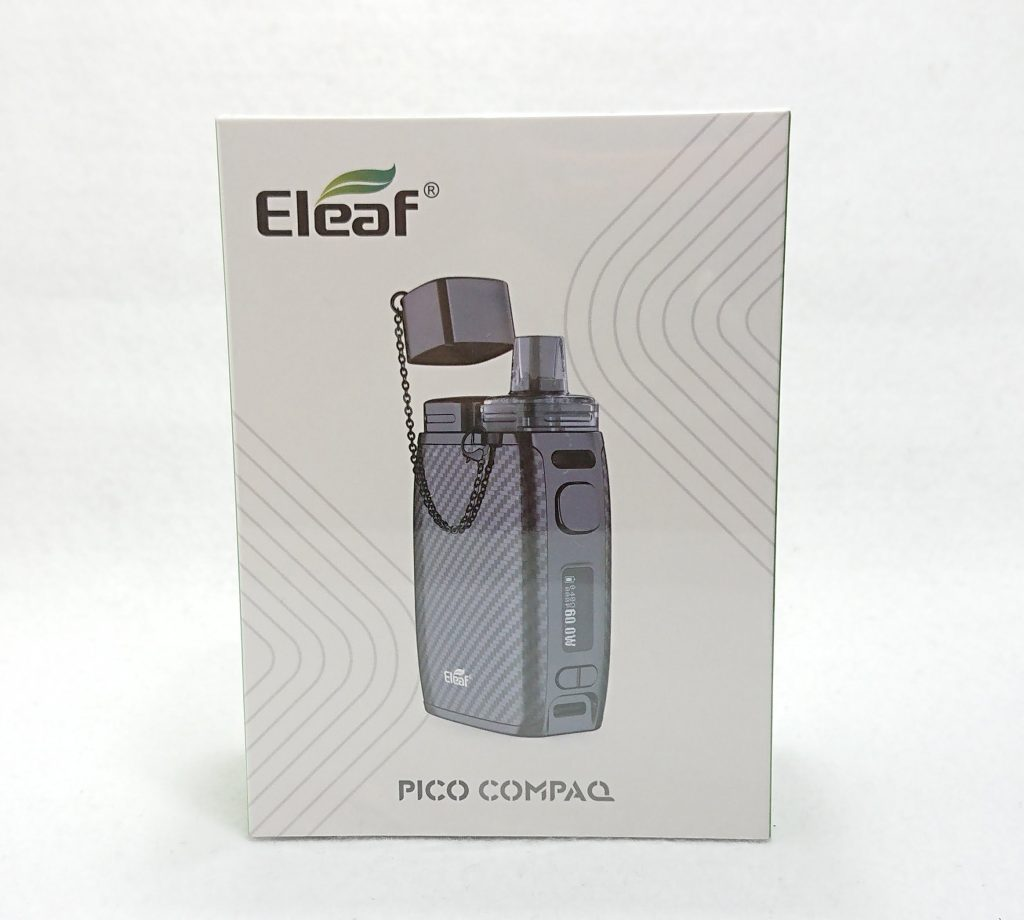 DSC 0069 - 【Eleaf 】PICO COMPAQ (ピコ コンパック)をレビュー!~PICOシリーズ待望のPOD型デバイス~