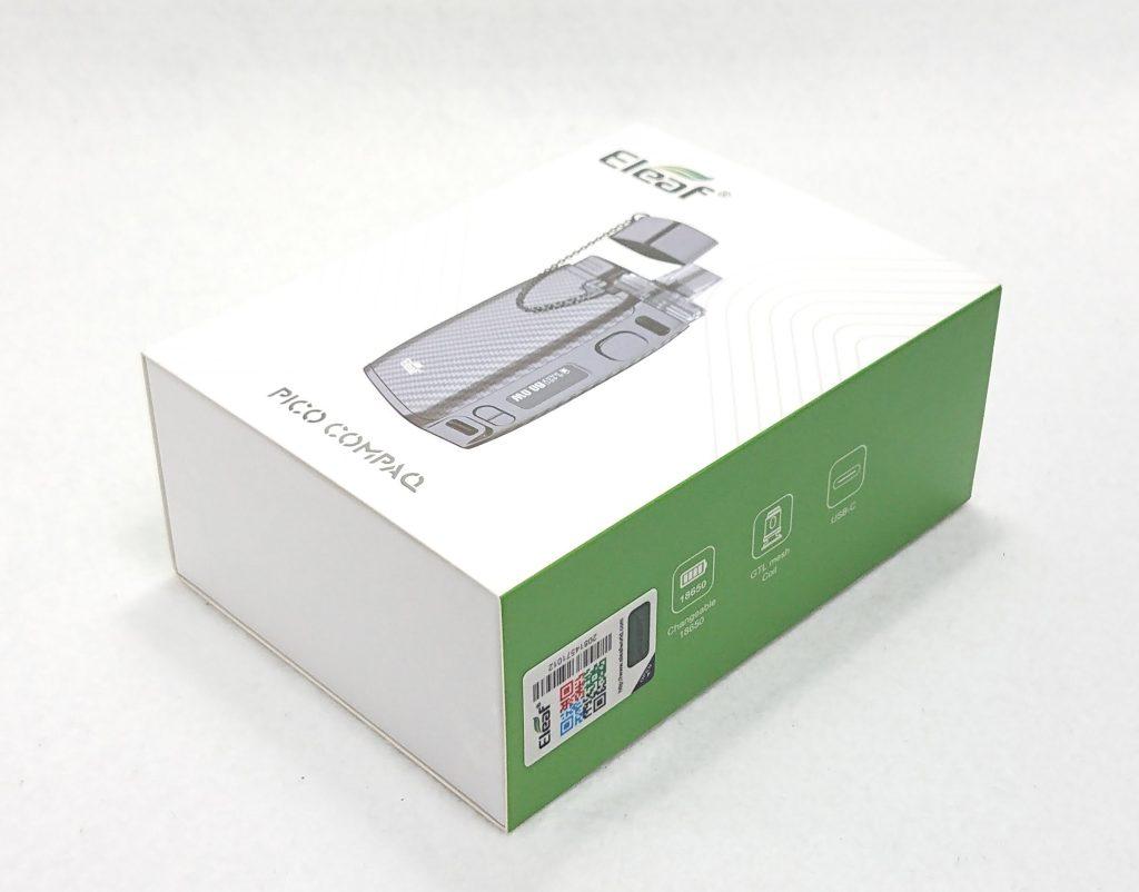 DSC 0070 - 【Eleaf 】PICO COMPAQ (ピコ コンパック)をレビュー!~PICOシリーズ待望のPOD型デバイス~