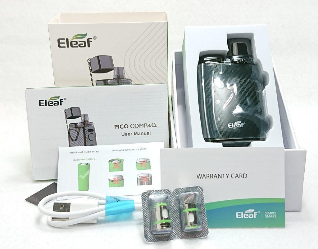 DSC 0073 - 【Eleaf 】PICO COMPAQ (ピコ コンパック)をレビュー!~PICOシリーズ待望のPOD型デバイス~