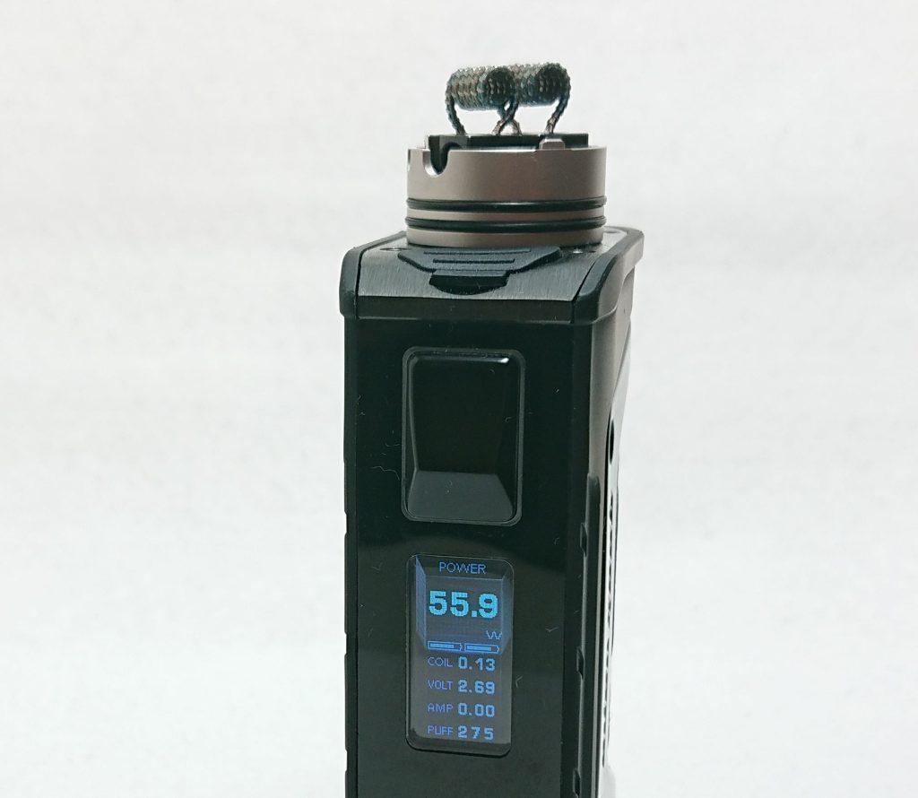 DSC 0097 1 - 【Mass Mods】AXIAL PRO RDA(25mm)を購入!~抵抗値が『倍』になる直列デッキ~