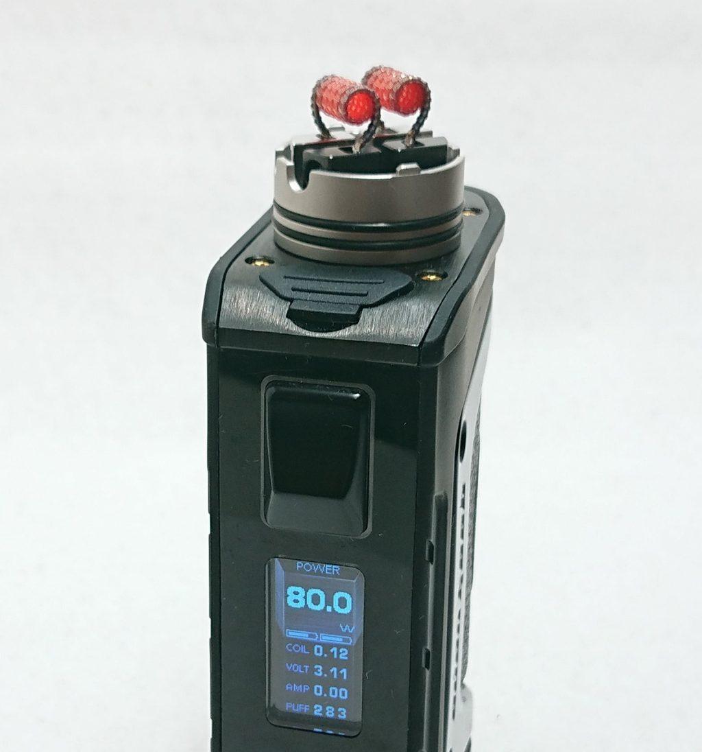 DSC 0098 1 - 【Mass Mods】AXIAL PRO RDA(25mm)を購入!~抵抗値が『倍』になる直列デッキ~