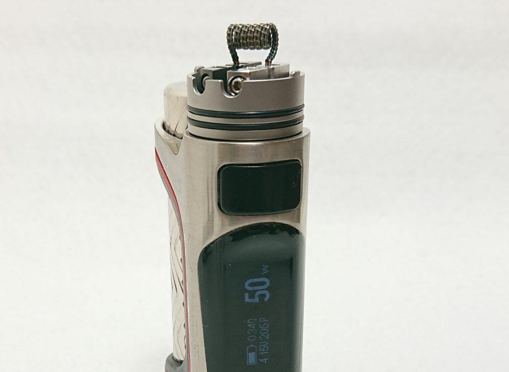 DSC 0100 1 - 【Mass Mods】AXIAL PRO RDA(25mm)を購入!~抵抗値が『倍』になる直列デッキ~