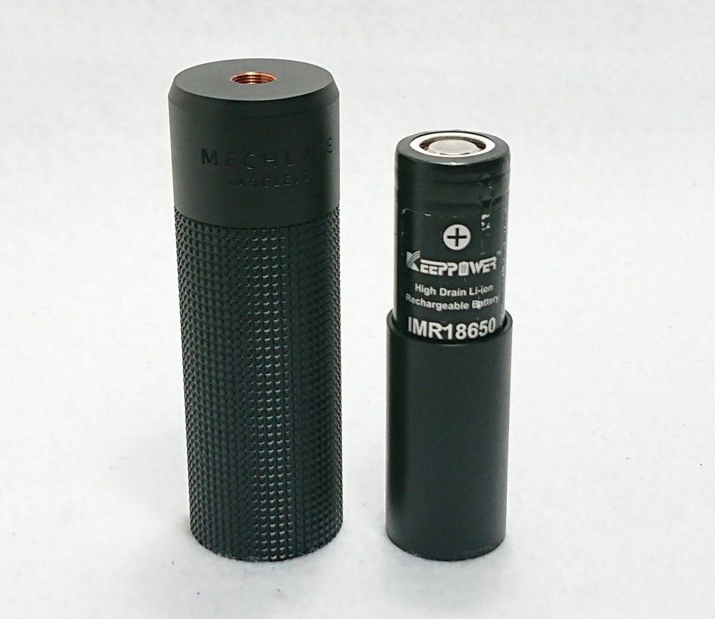 DSC 0173 - 【Mechlyfe】 Arcless V2.0 Mech Mod Copper Versionを購入!~21700バッテリーにも対応のメカニカルMODなんだけど…~