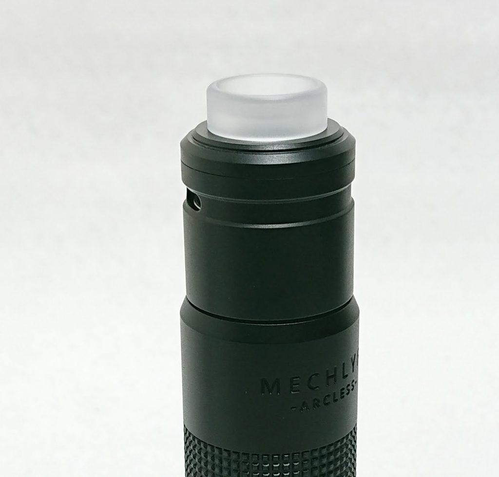 DSC 0178 - 【Mechlyfe】 Arcless V2.0 Mech Mod Copper Versionを購入!~21700バッテリーにも対応のメカニカルMODなんだけど…~