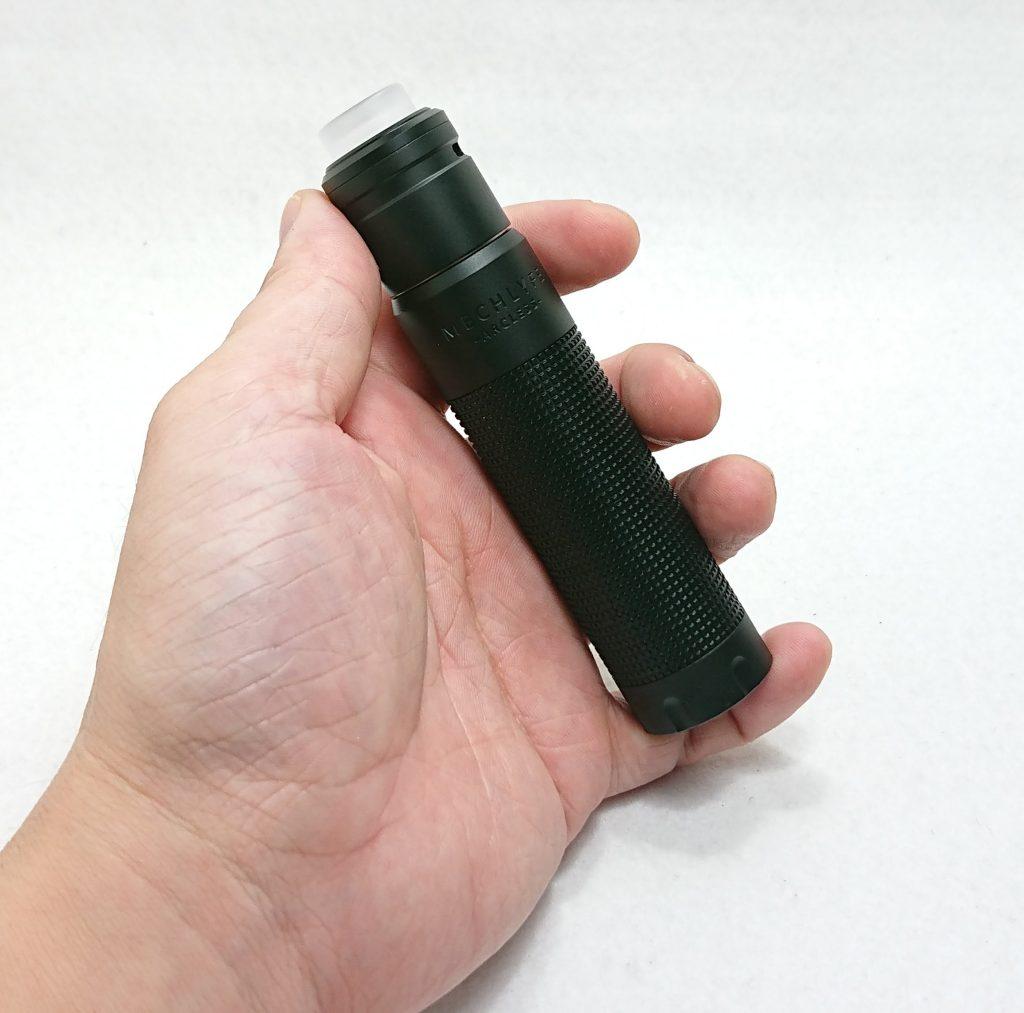 DSC 0180 - 【Mechlyfe】 Arcless V2.0 Mech Mod Copper Versionを購入!~21700バッテリーにも対応のメカニカルMODなんだけど…~