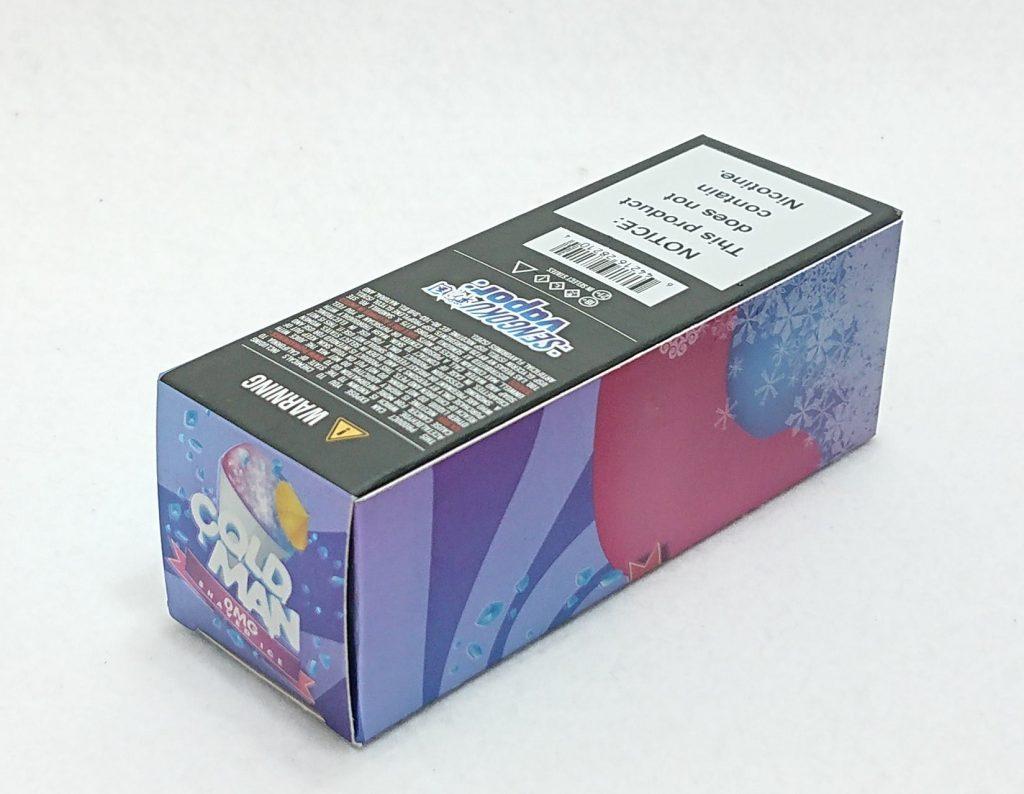 DSC 0220 - 【SENGOKU VAPOR】COLD MAN ハワイアンシェイブアイス~フレッシュフルーツな100mlリキッド~