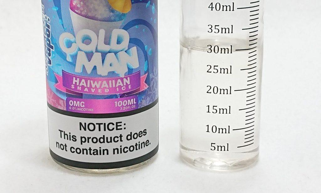 DSC 0225 - 【SENGOKU VAPOR】COLD MAN ハワイアンシェイブアイス~フレッシュフルーツな100mlリキッド~
