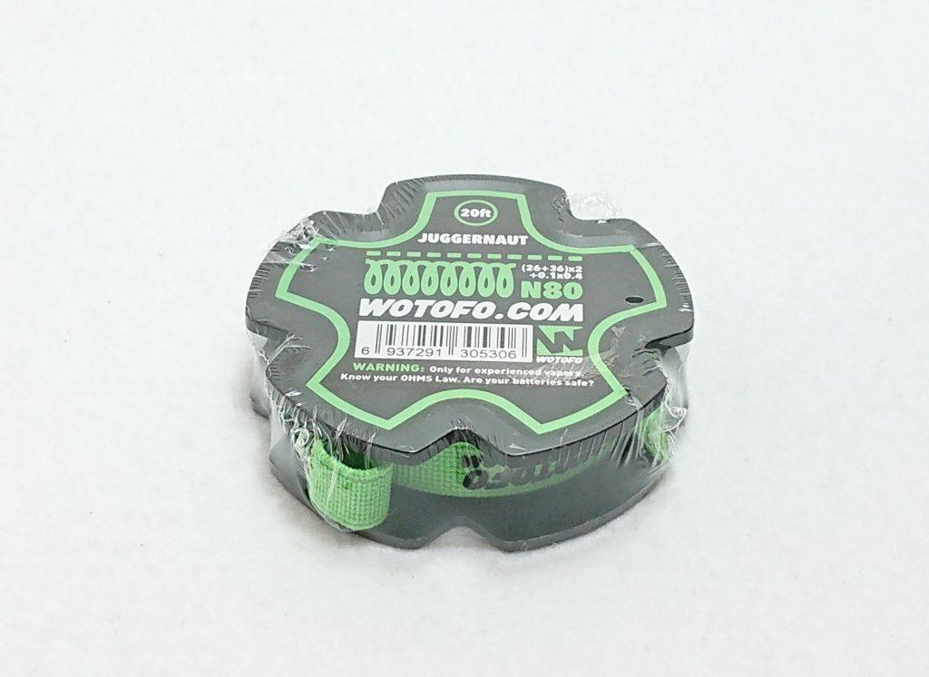 DSC 0227 - 【WOTOFO】ジャガノートワイヤーを購入!NI80(26ga+36ga)×2+0.1mm×0.4mm