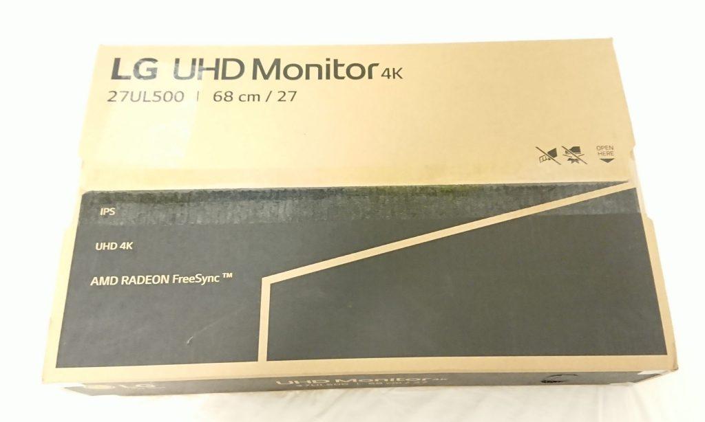 DSC 0002 3 scaled - 【LG】4Kモニター27UL500-W 27インチを購入しました!~スペック紹介なし!開封から設置まで~