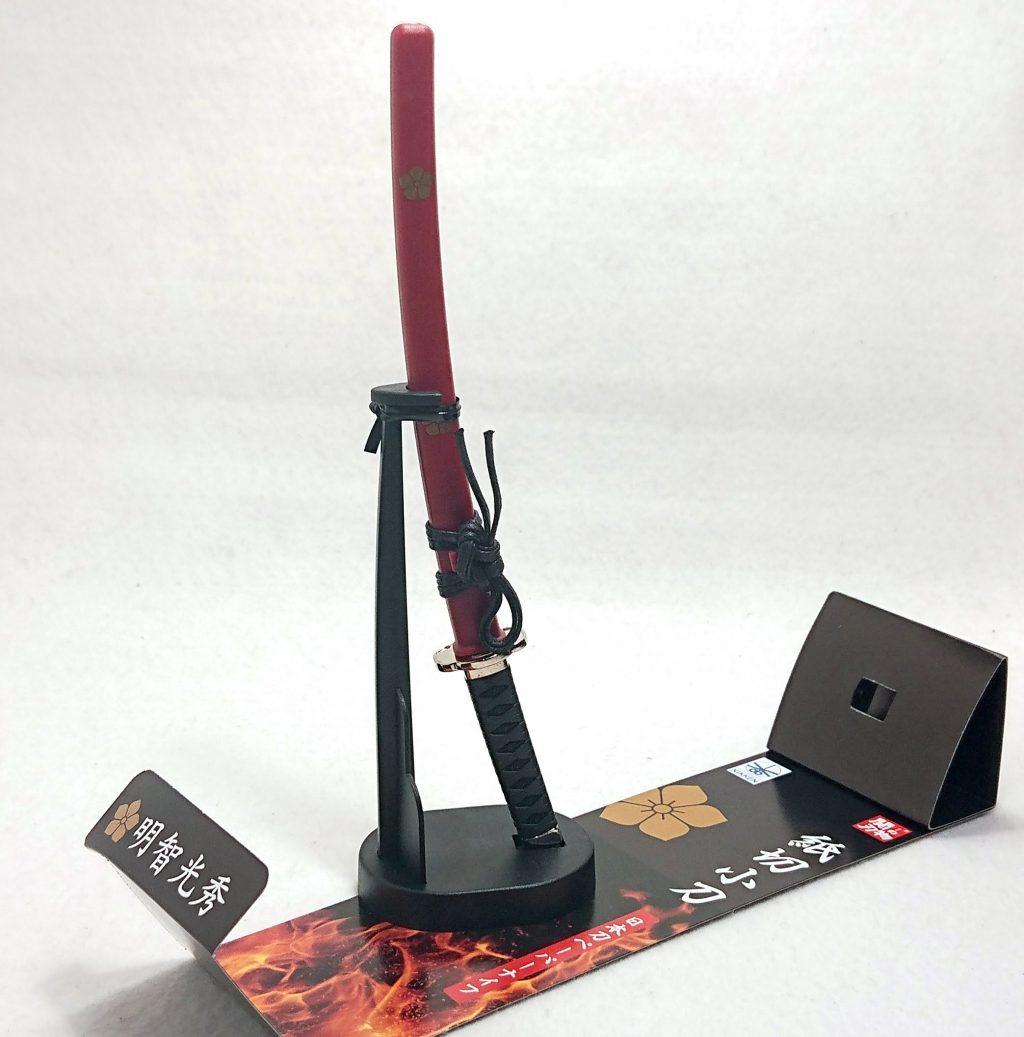 DSC 0004 - 【ニッケン刃物】紙切小刀(ペーパーナイフ) 明智光秀モデルを購入しました!