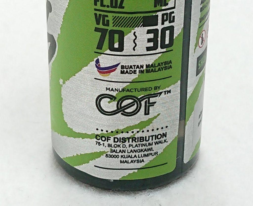 DSC 0007 2 - 【COF】BAD BULLS LIME(バッドブルズ ライム)~清涼感強めのエナドリライムフレーバーリキッド~