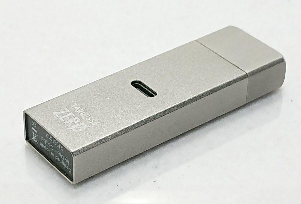 DSC 0009 3 - 【TARLESS】TARLESS ZERO(ターレスゼロ)をレビュー!~リモートワーク専用?の超小型のPOD型デバイス~