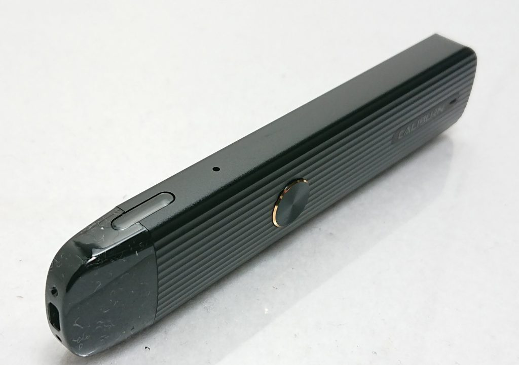 DSC 0018 7 - 【Uwell】CaliburnG(カリバーンG)をレビュー!~原点にして頂点のスティック型PODの後続機が登場!~