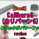 cats 6 150x150 - 【Uwell】CaliburnG(カリバーンジー)をレビュー!~原点にして頂点のスティック型PODの後続機が登場!~