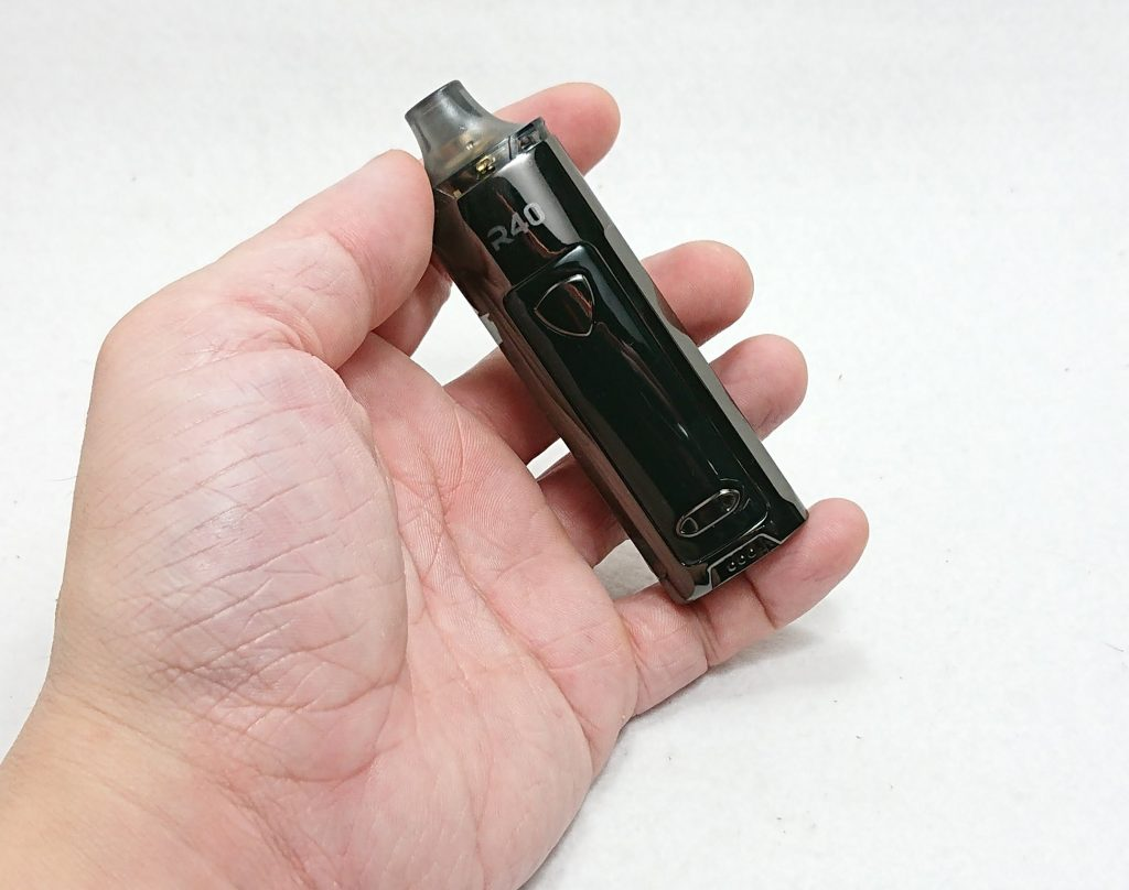 DSC 0177 - 【Wismec】R40 Pod Mod Kitをレビュー!~スマートモードで自動で出力調整してくれるPOD型デバイス~
