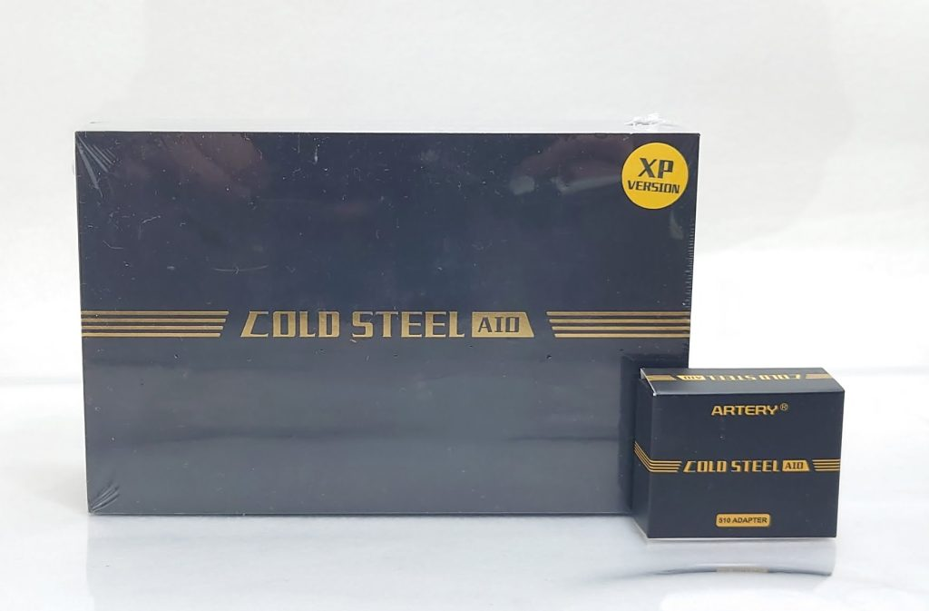 DSC 0002 - 【Artery】Cold Steel AIO XP 4ml(コールドスチール エーアイオー)をレビュー!~最大120Wまで出力が可能な何でもできるAIOデバイス~