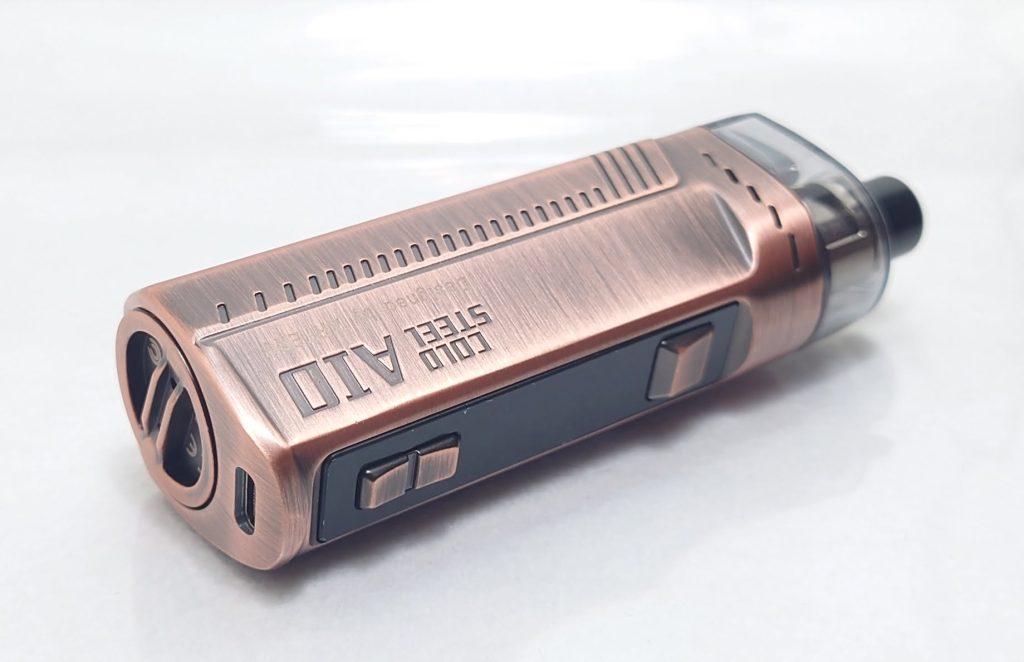 DSC 0007 - 【Artery】Cold Steel AIO XP 4ml(コールドスチール エーアイオー)をレビュー!~最大120Wまで出力が可能な何でもできるAIOデバイス~
