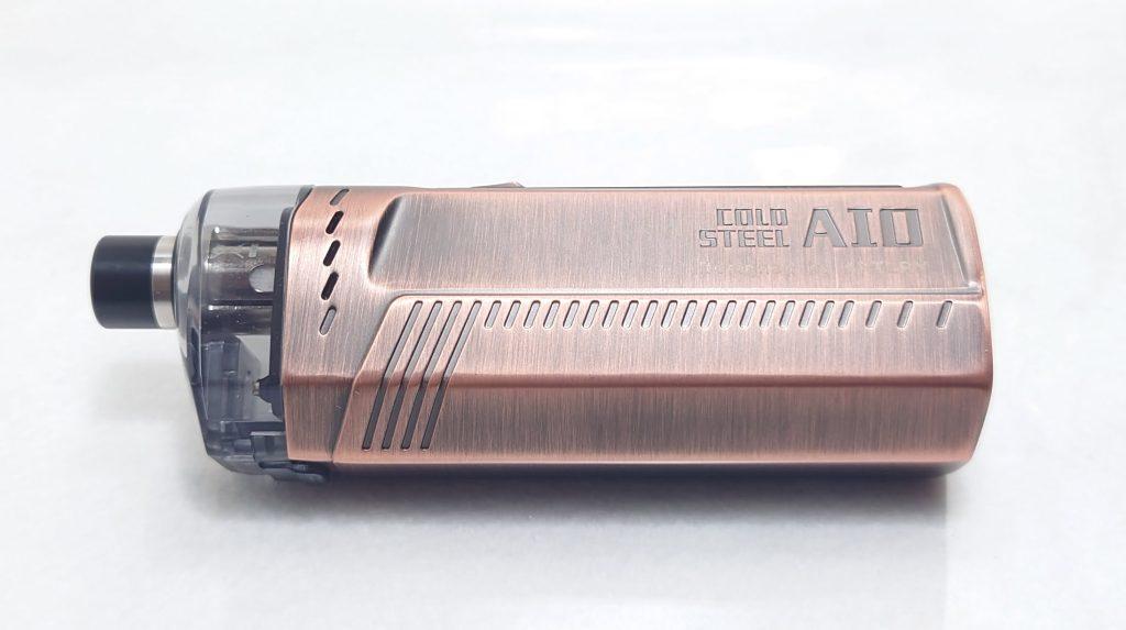 DSC 0011 - 【Artery】Cold Steel AIO XP 4ml(コールドスチール エーアイオー)をレビュー!~最大120Wまで出力が可能な何でもできるAIOデバイス~