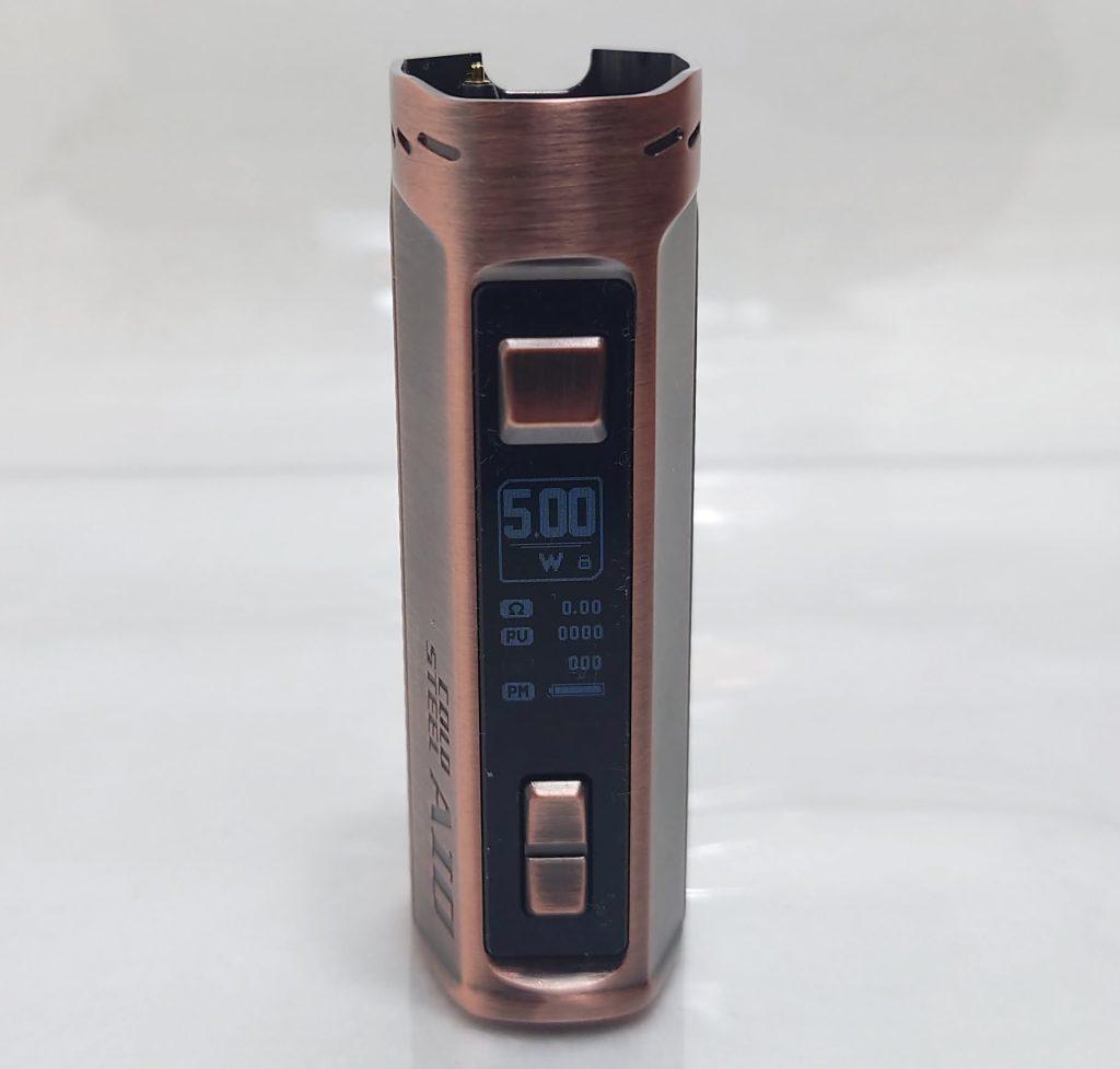 DSC 0022 - 【Artery】Cold Steel AIO XP 4ml(コールドスチール エーアイオー)をレビュー!~最大120Wまで出力が可能な何でもできるAIOデバイス~