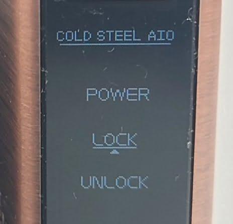 DSC 0028 - 【Artery】Cold Steel AIO XP 4ml(コールドスチール エーアイオー)をレビュー!~最大120Wまで出力が可能な何でもできるAIOデバイス~