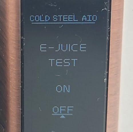 DSC 0029 - 【Artery】Cold Steel AIO XP 4ml(コールドスチール エーアイオー)をレビュー!~最大120Wまで出力が可能な何でもできるAIOデバイス~