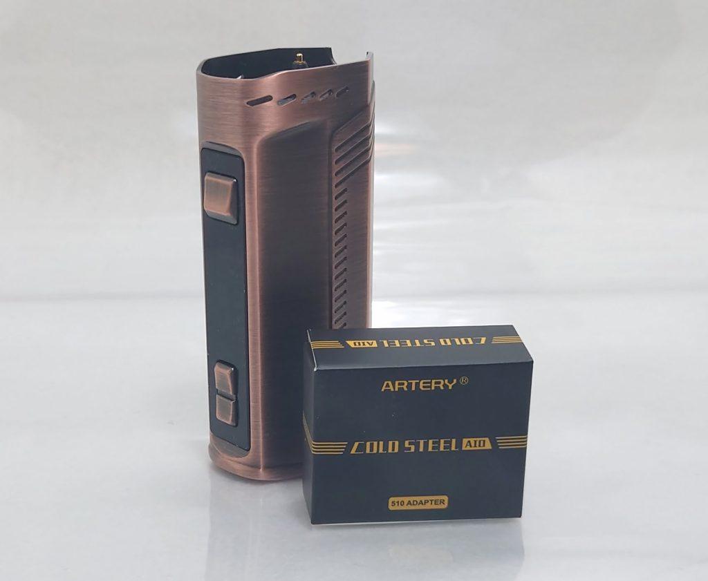 DSC 0035 - 【Artery】Cold Steel AIO XP 4ml(コールドスチール エーアイオー)をレビュー!~最大120Wまで出力が可能な何でもできるAIOデバイス~
