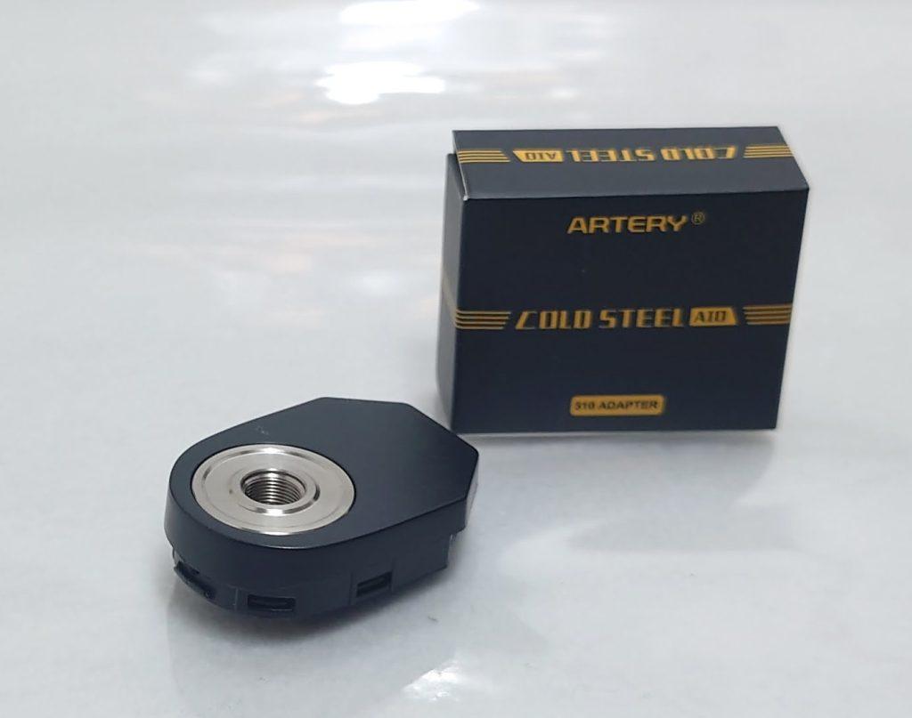 DSC 0036 - 【Artery】Cold Steel AIO XP 4ml(コールドスチール エーアイオー)をレビュー!~最大120Wまで出力が可能な何でもできるAIOデバイス~