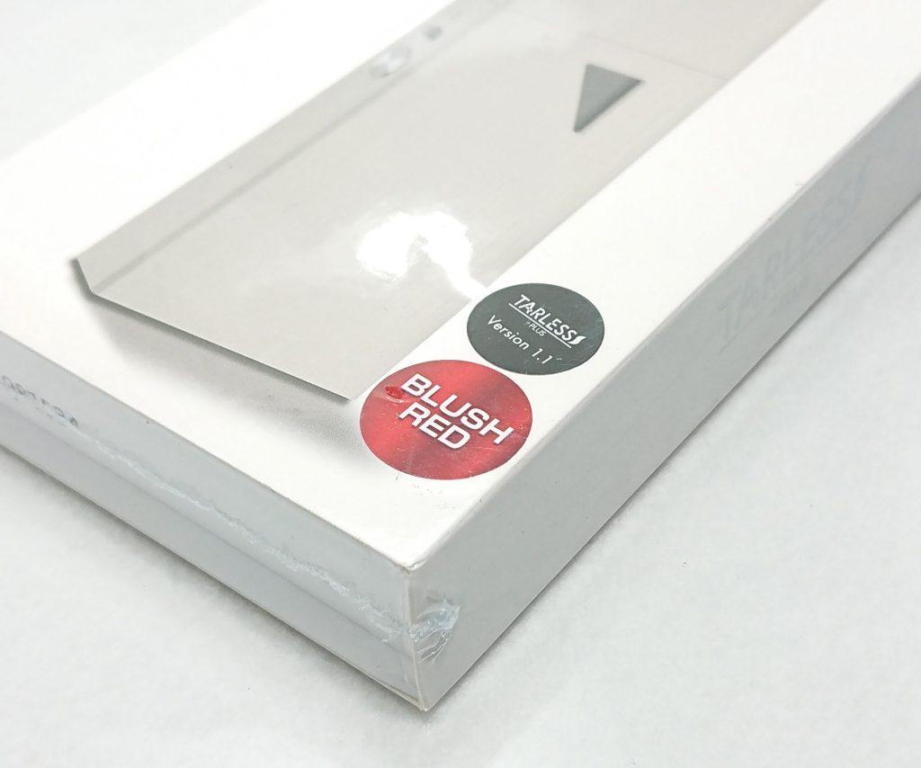 DSC 0109 - 【TARLESS】ターレスプラスに新色の『ブラッシュレッド 』が登場!