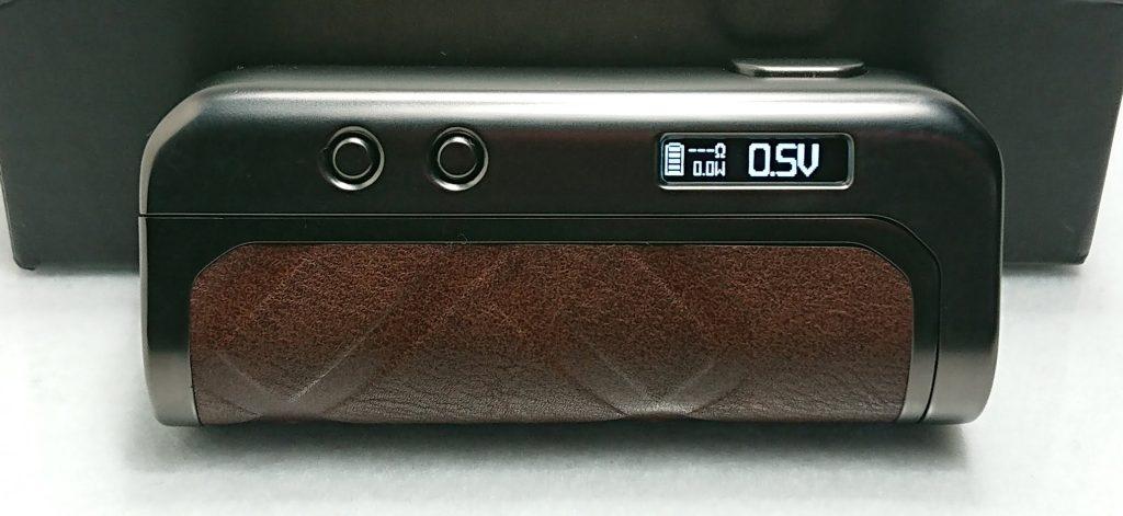 DSC 0247 - 【AUGVAPE】FOXY ONE MODをレビュー!~最大120Wまで出力可能!シンプル&コンパクトなテクニカルMOD~
